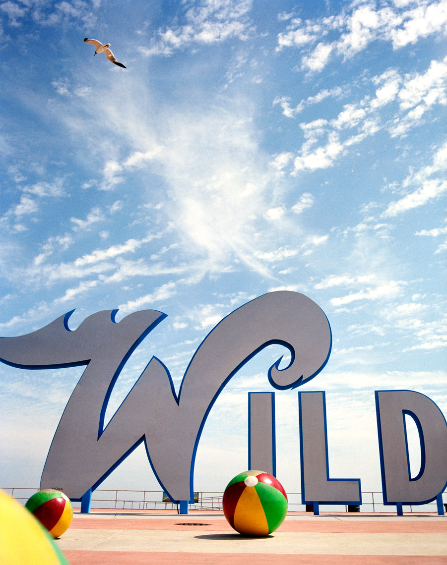 The sign at Wildwood Jersey Shore travel & Leisure