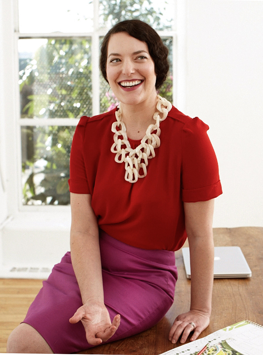 Lisa Switkin architect shot for Good Housekeeping