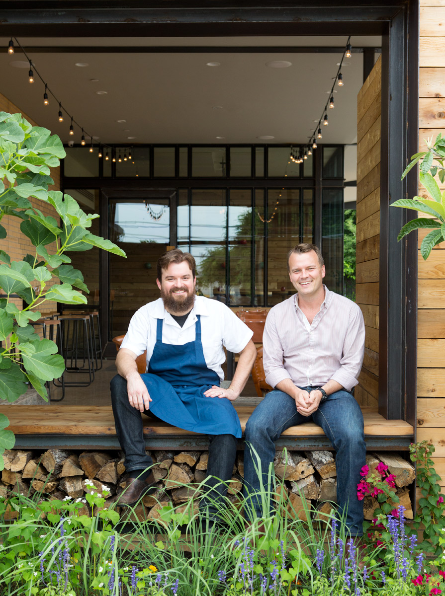 Texas Monthly story on Chicon restaurant owners Wisehart and Ben Edgerton